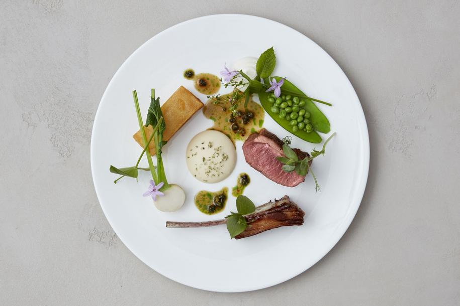 One of Ollie Dabbous' beautiful dishes