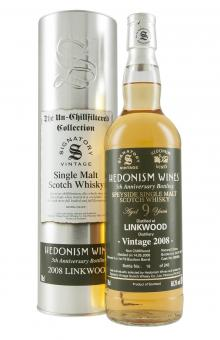 Linkwood 9YO Hedonism Wines 5th Anniversary