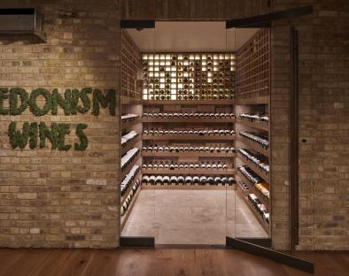 Fine wines and Champagnes on display at Hedonism Wines