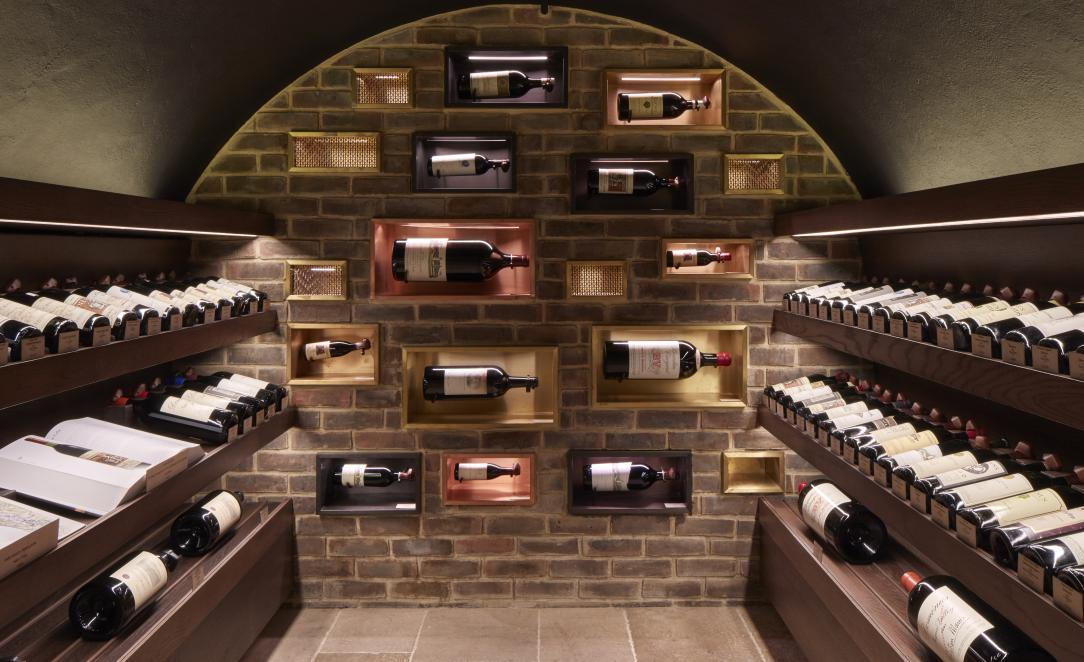 The rare vintages vault at Hedonism Wines