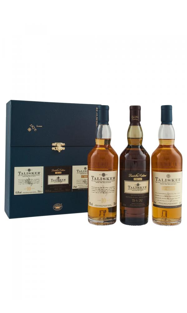 Talisker Triple 20cl Gift Set