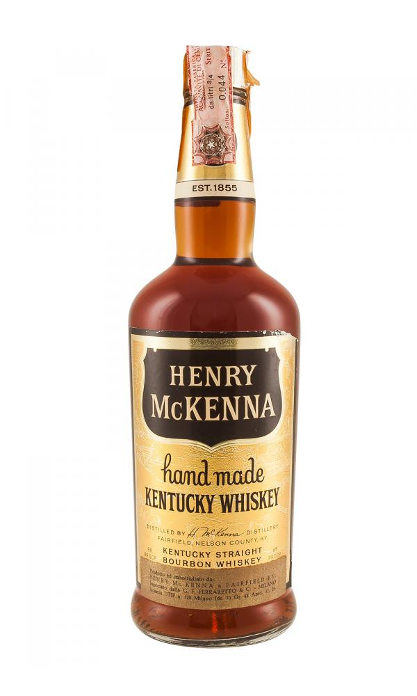 Henry McKenna Bourbon Bottled c. 1960s