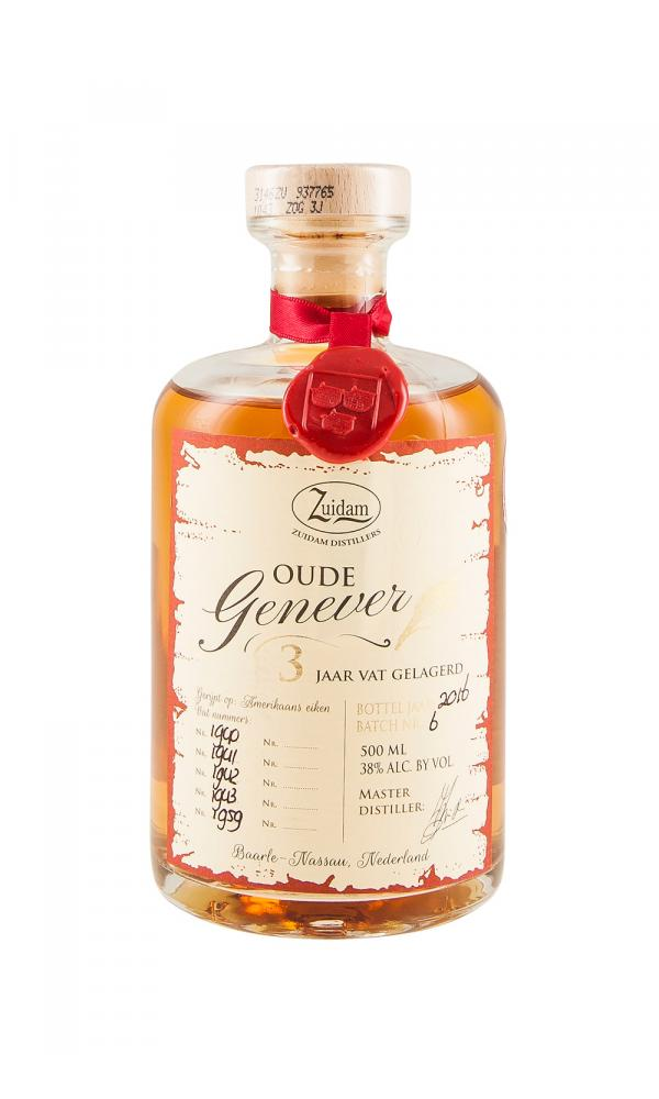 Zuidam Oude Genever 3YO Single Barrel