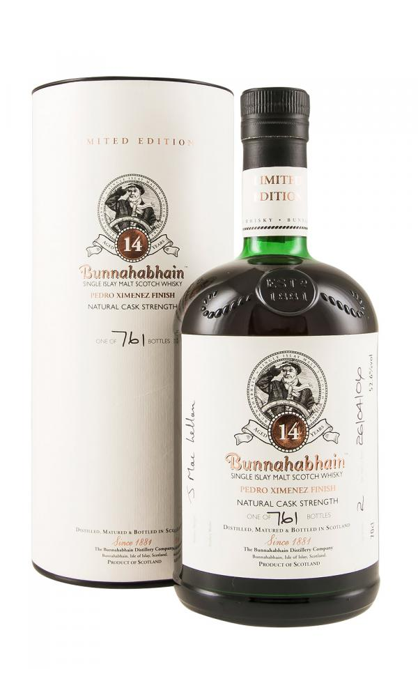 Bunnahabhain 14YO PX Finish Feis Ile Bottled 2006