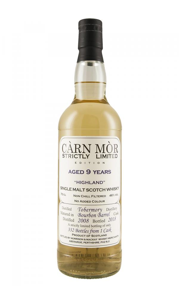 Tobermory 9YO Carn Mor Strictly Limited