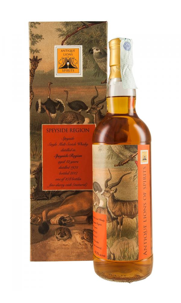 Speyside 42YO Antique Lions of Spirits Savannah