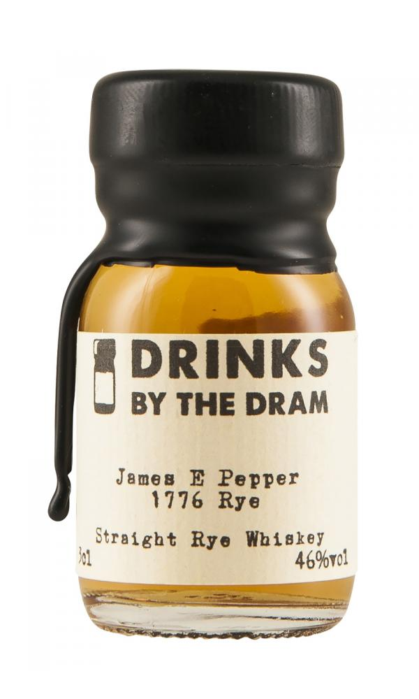 James E Pepper 1776 Rye 3cl