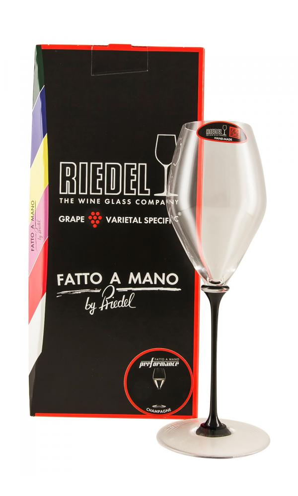 Riedel Fatto a Mano Performance Champagne Black