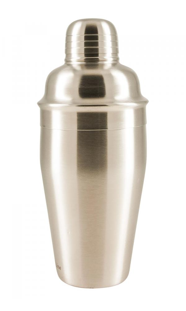 Satin Stainless Steel Cocktail Shaker