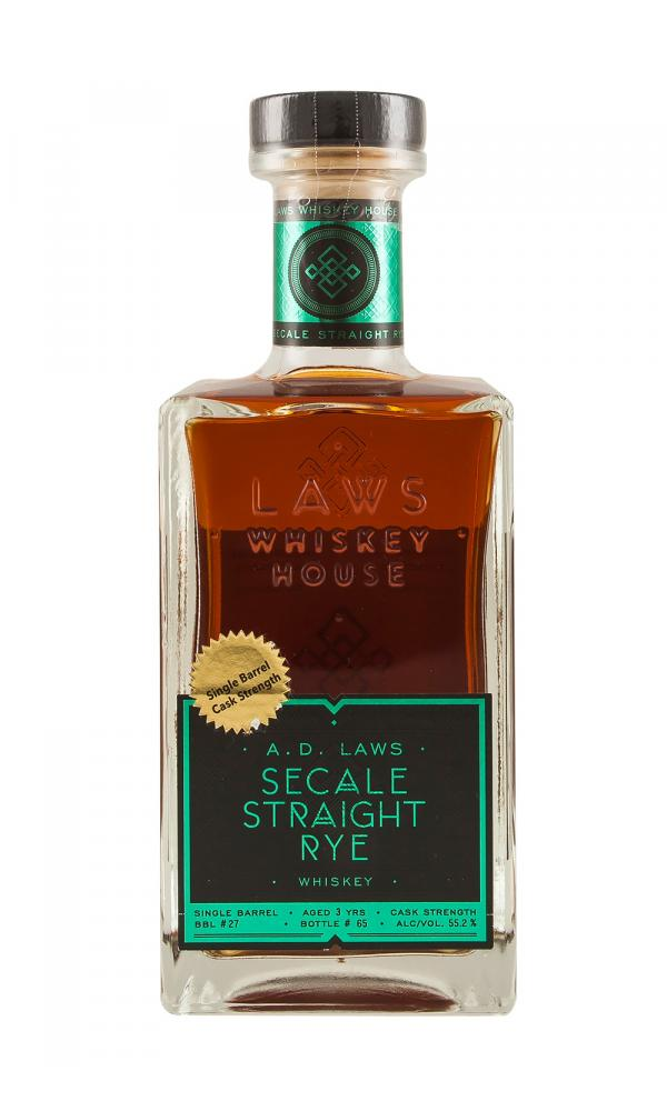 A D Laws Barrel 27 Secale Straight Rye