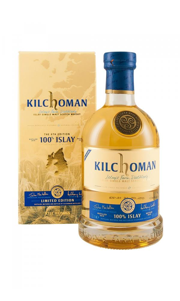 Kilchoman 100% Islay 6th Release