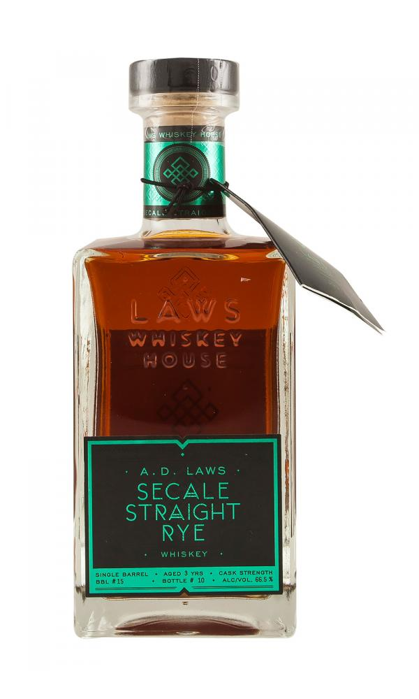 A D Laws Barrel 15 Secale Straight Rye