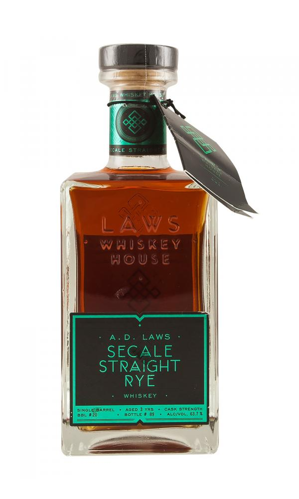 A D Laws Barrel 20 Secale Straight Rye