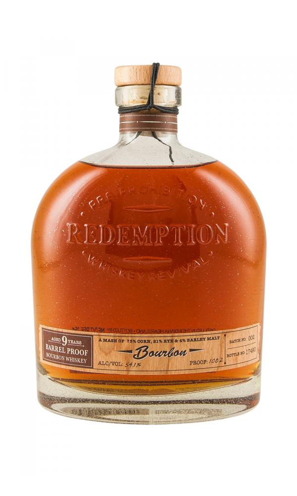 Redemption 9YO Barrel Proof Bourbon