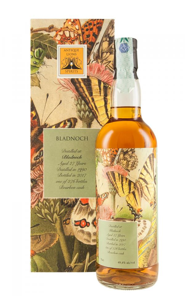 Bladnoch 27YO Antique Lions of Spirits Butterflies