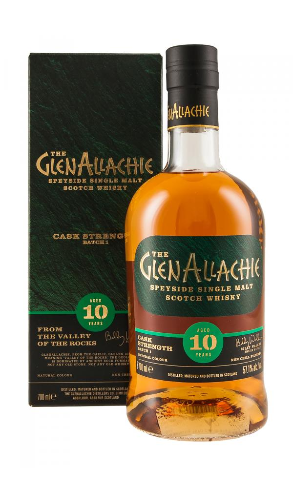 GlenAllachie 10YO Cask Strength Batch One