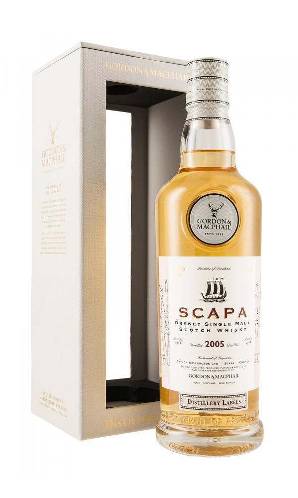 Scapa G&M Distillery Labels