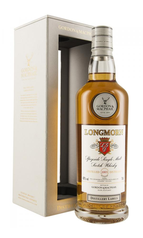 Longmorn G&M Distillery Labels