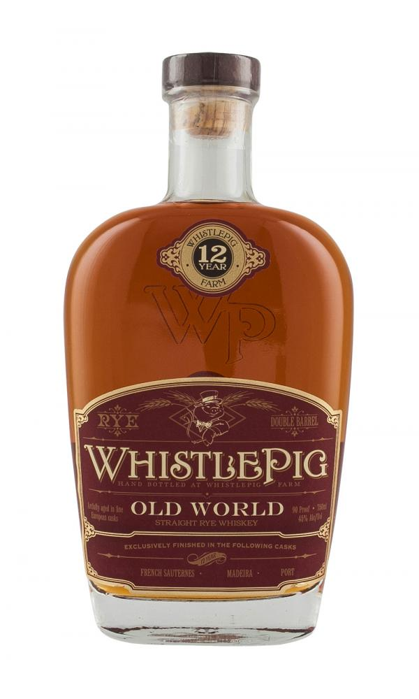 WhistlePig 12YO Old World Cask Finish Blend