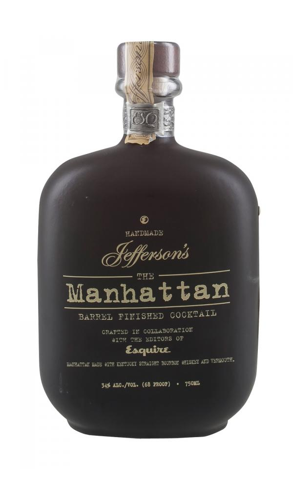Jefferson`s Manhattan Barrel Finish Cocktail