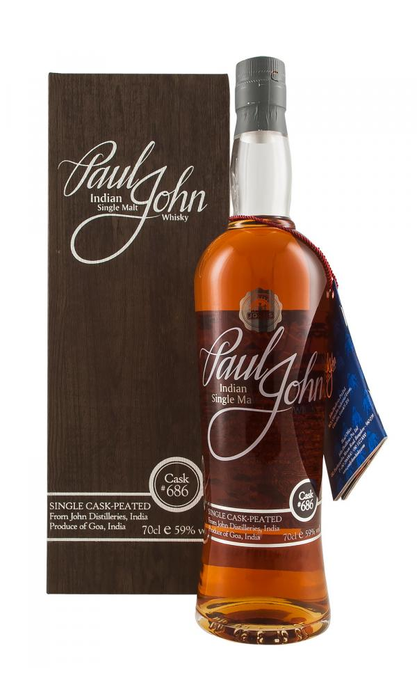 Paul John Single Cask 686 Peated