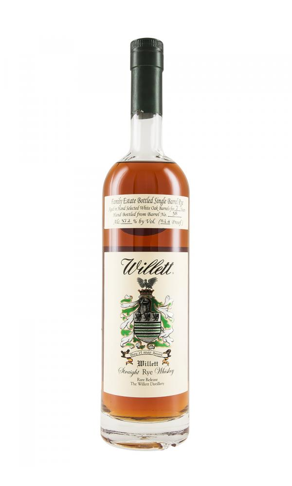 Willett 7YO Rye Barrel 58