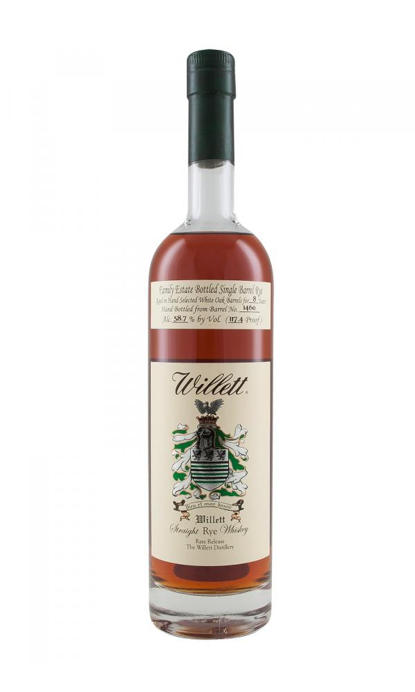Willett 8YO Rye Barrel 1460