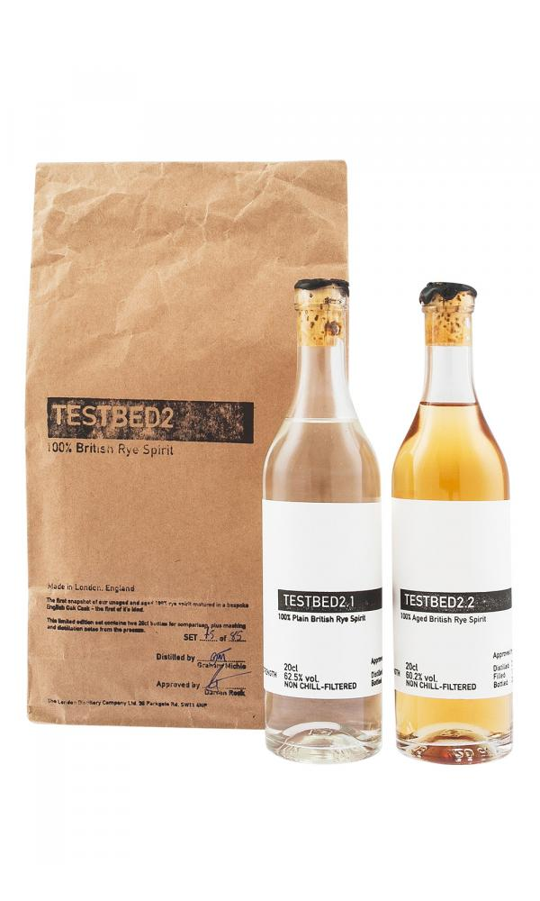 London Distillery Testbed 100% British Rye Duo