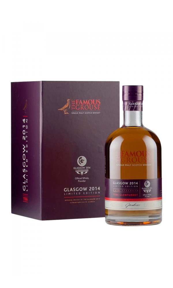 Glenturret Famous Grouse Commonwealth Games Limited Edition