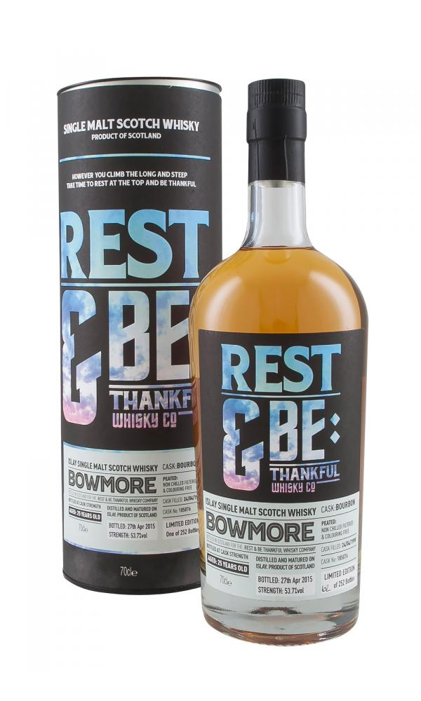 Bowmore 25YO Rest & Be Thankful
