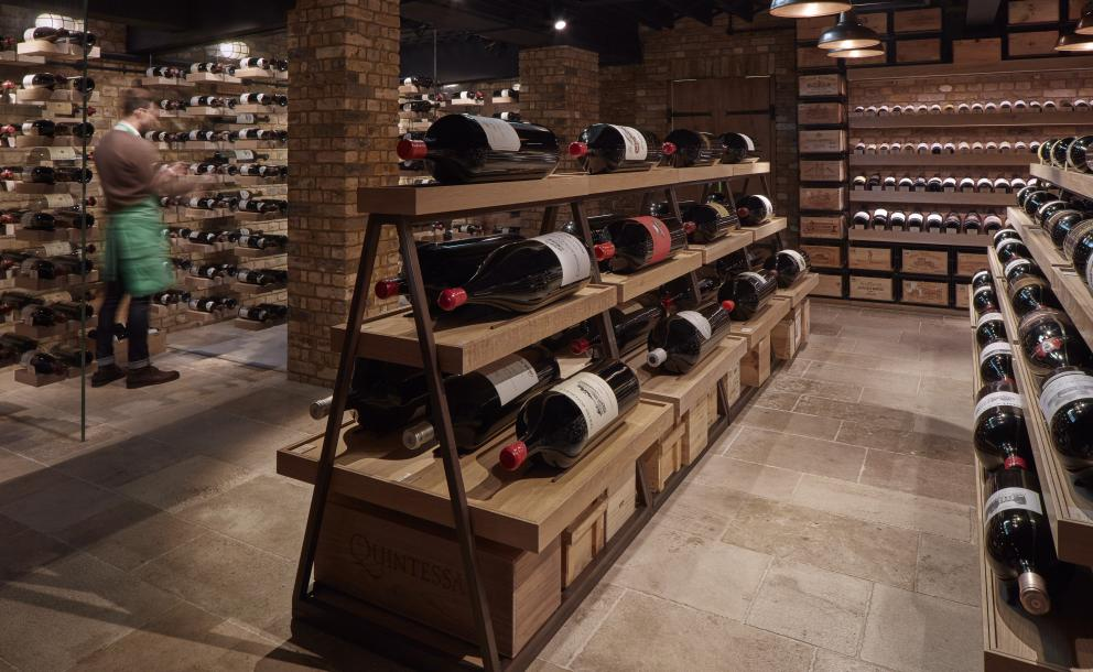 Large formats at Hedonism Wines