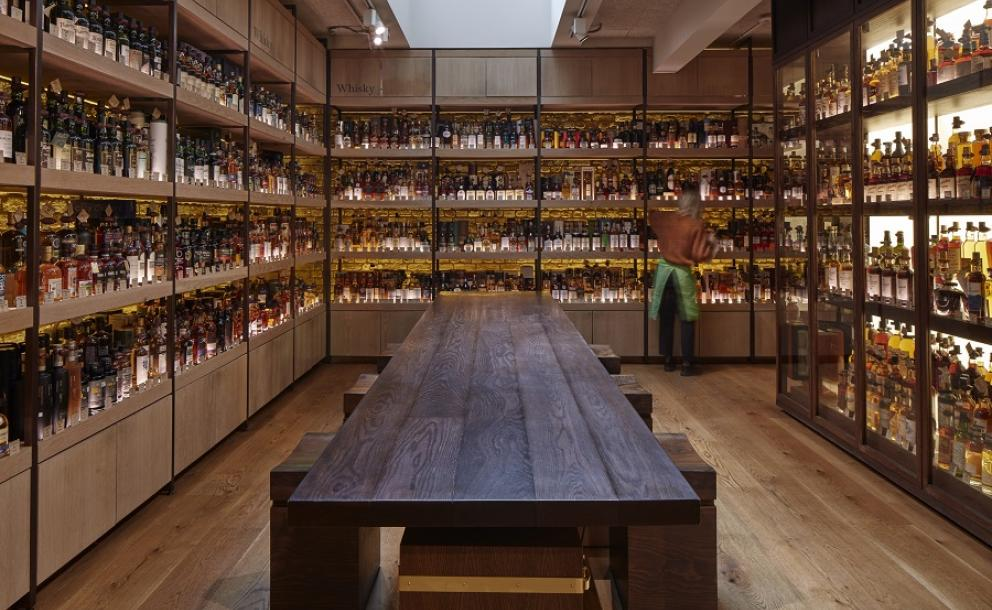 Spirits at Hedonism Wines